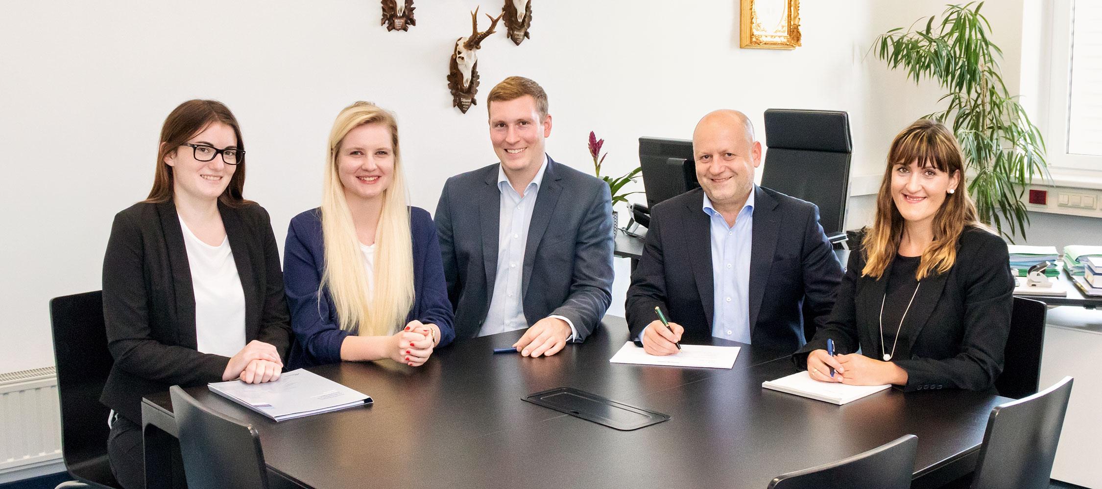 Das Team des Notariat Pendl in Leibnitz